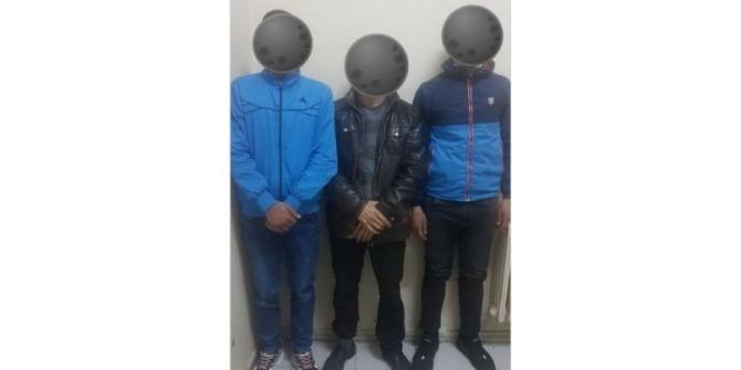 Kredi kartı hırsızları tutuklandı