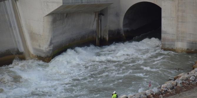 Avrupa'nın en büyük barajında doluluk oranı arttı