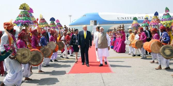 Ekonomik çöküntüdeki Hindistan'dan Trump için milyar dolarlık harcama