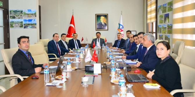 Vali Mustafa Masatlı Başkanlığında, Serhat Kalkınma Ajansı toplantısı yapıldı