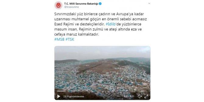 """MSB: """"Muhtemel göçün sebebi Esed rejimi ve destekçileridir"""""""