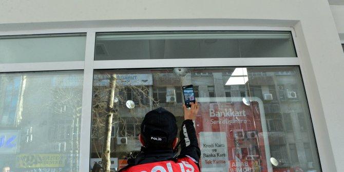 Kahramanmaraş'ta banka şubesi kurşunlandı