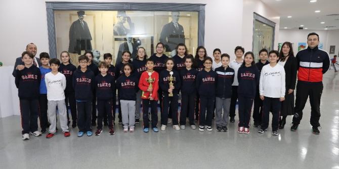 SANKO Okulları basketbolda il şampiyonu