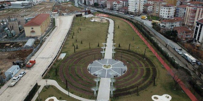 (Havadan fotoğraflarla)  - Maltepe'de Cumhuriyet Parkı şantiye alanına döndü