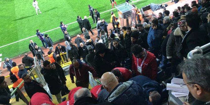 Kasımpaşa idari yöneticisi Nursal Bilgin, maçta kalp krizi geçirdi