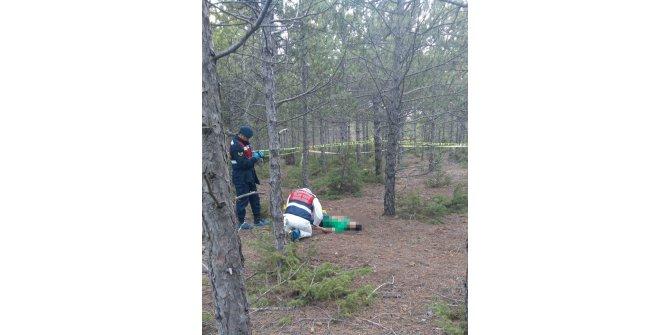 Genç kız, tartıştığı nişanlısını ormanda bıçakla öldürdü