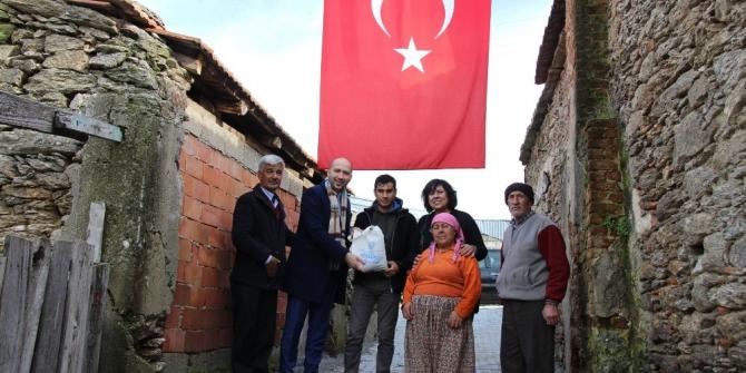 Söke Belediyesi'nden asker ailelerine ziyaret