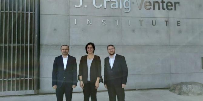 TÜSEB'den J. Craig Venter Enstitüsü'ne Ziyaret