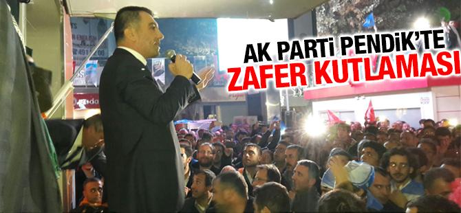 AK Parti Pendik'te Zafer Kutlaması