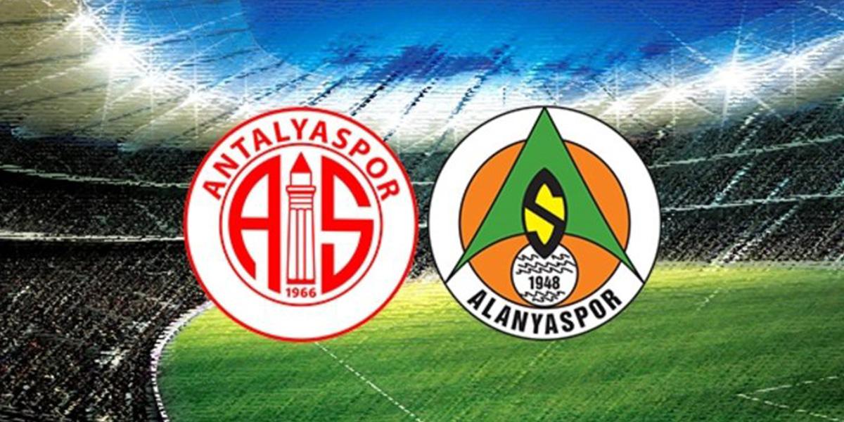 Antalyaspor – Alanyaspor maçının 11'leri belli oldu