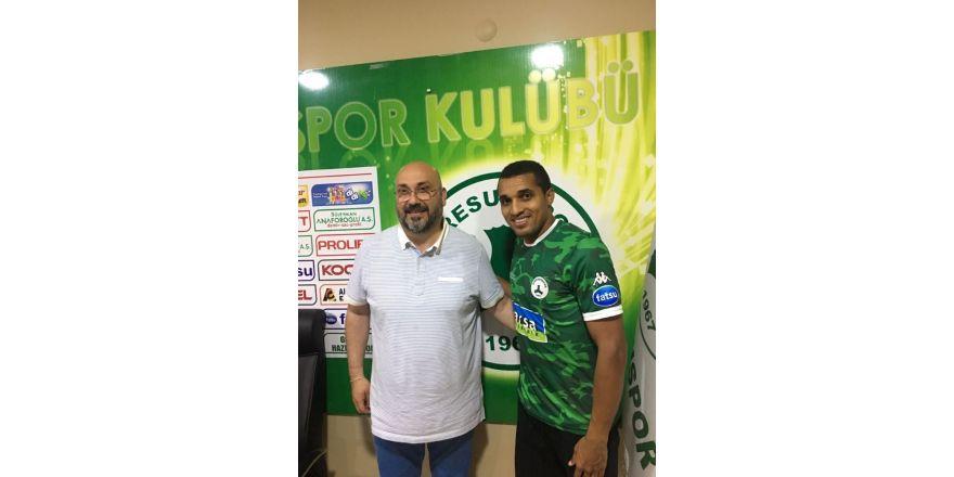 Giresunspor Brezilyalı Dodo ile iki yıllık sözleşme imzaladı