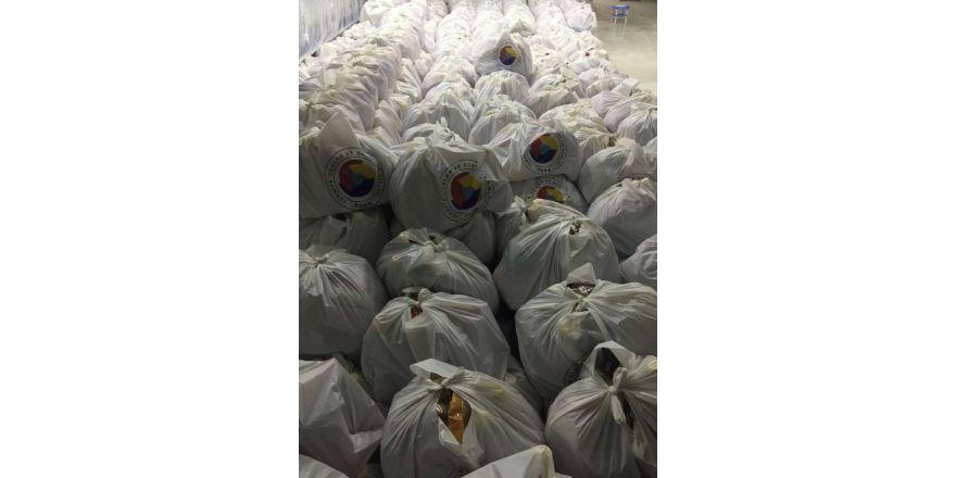DTSO'dan Sur'daki ailelere gıda yardımı