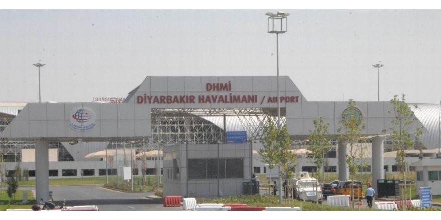 Diyarbakır Havalimanından yılın ilk 5 ayında 786 bin yolcu hizmet aldı