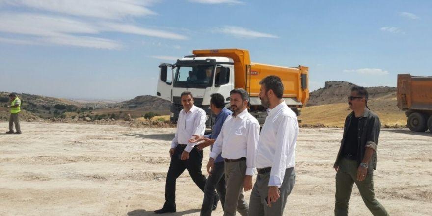 Nissibi-Kahta yolunda çalışmalar tüm hızıyla sürüyor