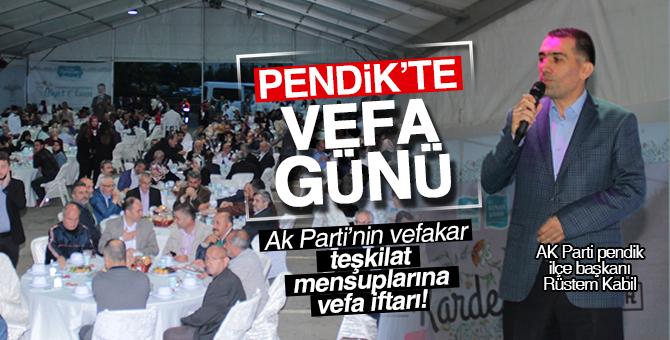 Ak Parti'nin vefakar  teşkilat mensuplarına vefa iftarı!