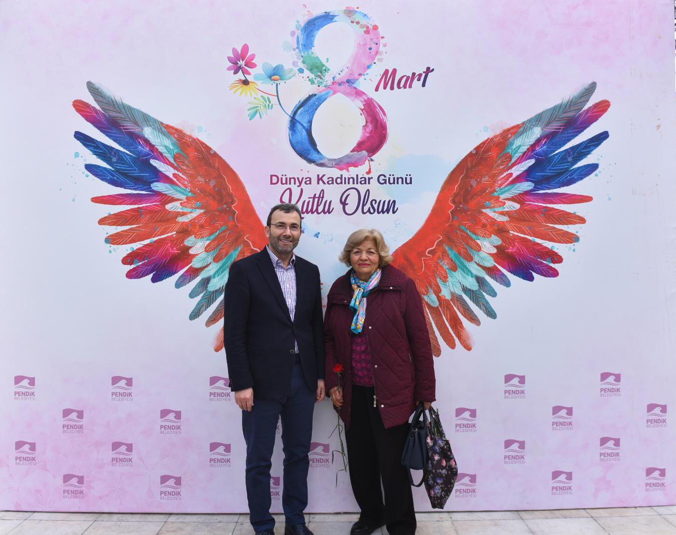 Pendik Belediye Başkanı Ahmet Cin'den Kadınlar Günü'ne özel kutlama!