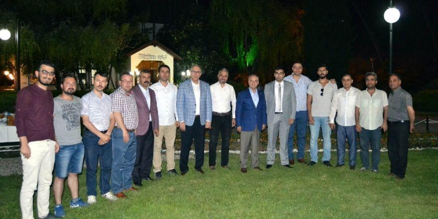 Başkan Kayda'dan gazetecilere iftar yemeği