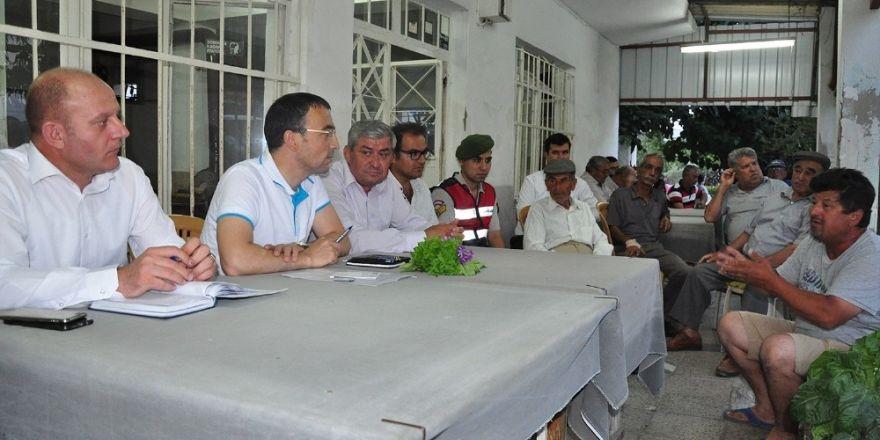 Milas Kaymakamı Arslan Türkevleri'nde vatandaşlarla buluştu