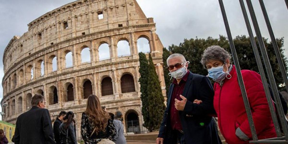 İtalya'da koronavirüs nedeniyle 345 kişi daha hayatını kaybetti