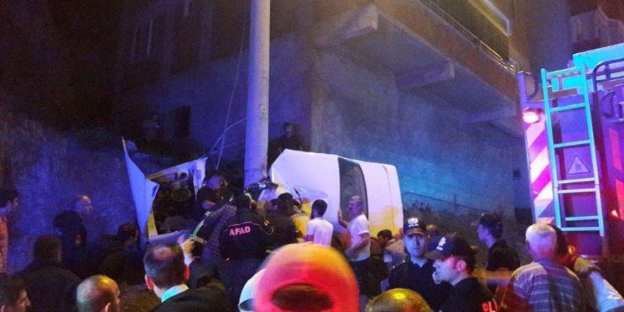 Artvin'de kaza:1'i ağır 3 yaralı
