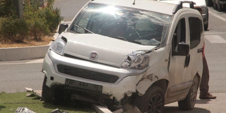 Elazığ'da trafik kazası:2 yaralı