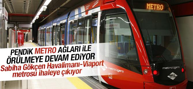 Sabiha Gökçen Havalimanı-Viaport metrosu ihaleye çıkıyor