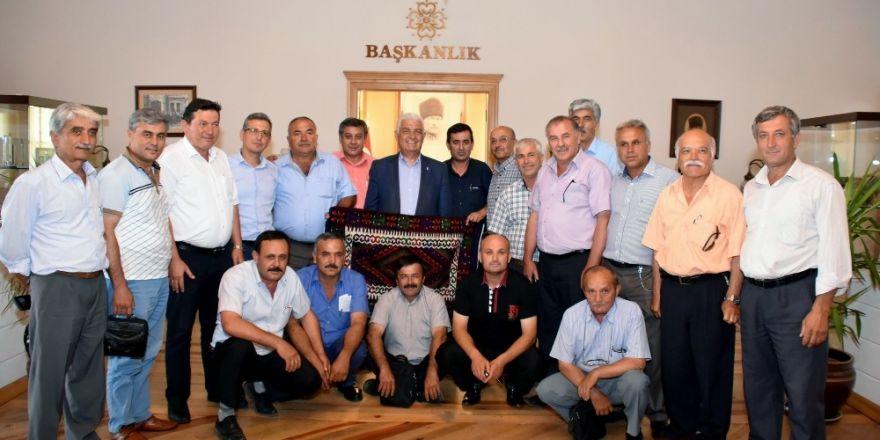 Seydikemer Muhtarları'ndan Büyükşehir'e Teşekkür Ziyareti