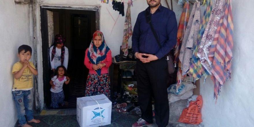 TÜGVA Şırnak Temsilciliği, 150 aileye gıda yardımı yaptı