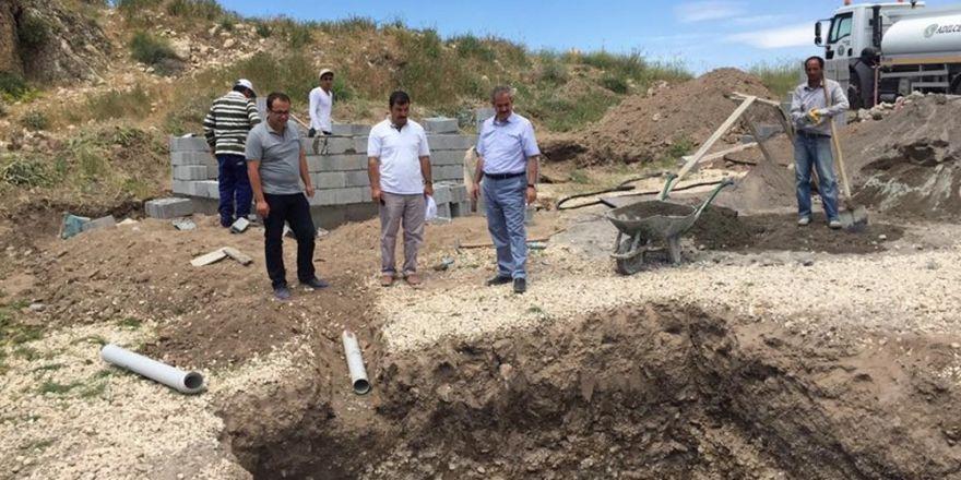 Adilcevaz Belediyesinden plaj çalışması