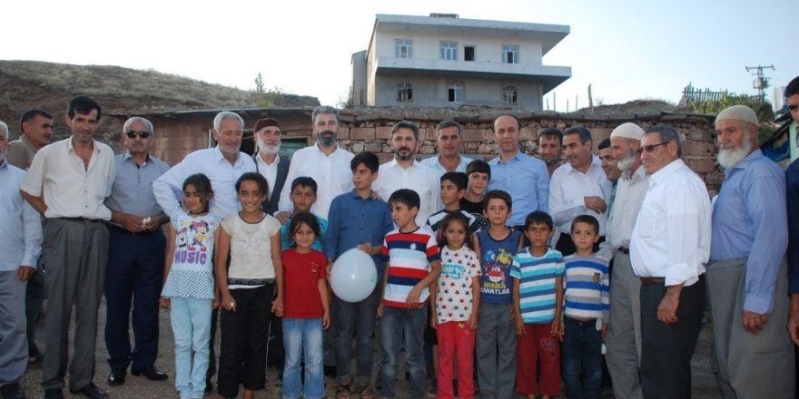 Vali Erin ve TBMM Başkanvekili Aydın'dan kırsala ziyaret
