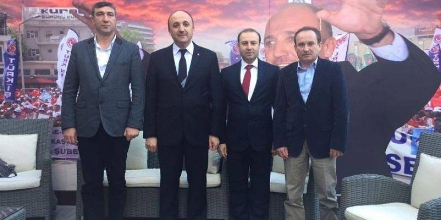 Türkiye Çimse İş'in Bozüyük Ertuğrul Gazi Şubesi yeni Başkanı Osman Vedat Taylan oldu