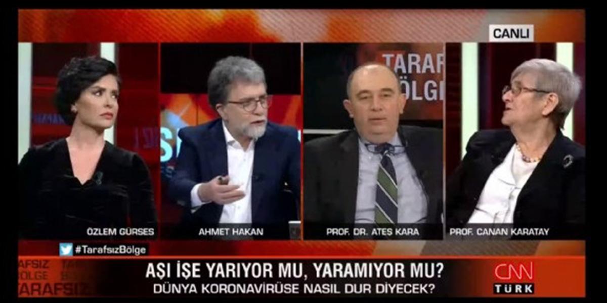 Canan Karatay'dan Ahmet Hakan'a tepki!