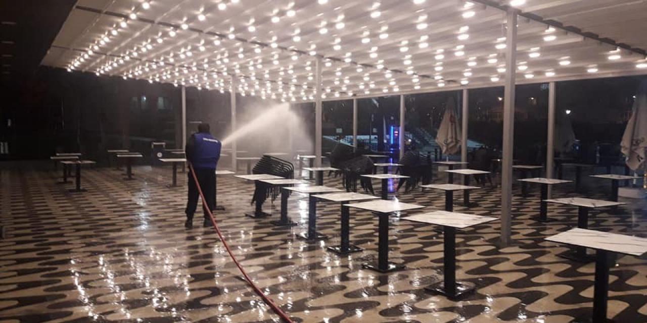 Çorlu Belediyesi tesisleri tedbir kapsamında kapatıldı