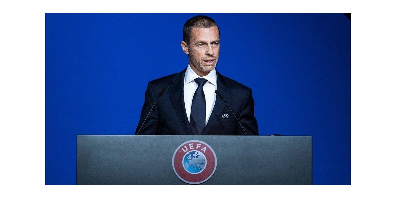 UEFA Başkanı Ceferin: EURO 2020'yi ertelemek tek seçeneğimizdi