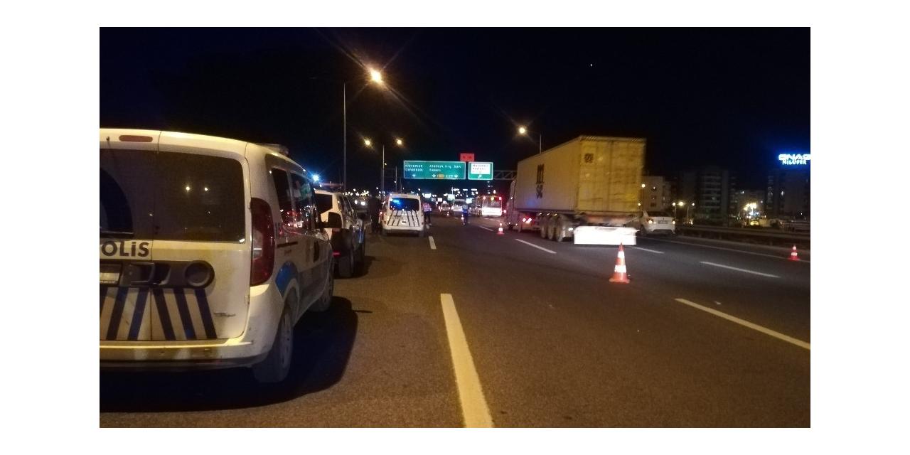 İzmir'de otomobilin çarptığı yaya öldü