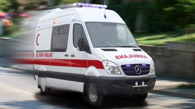 İzmir'de ambulansın çarptığı çift tüm müdahalelere rağmen kurtarılamadı