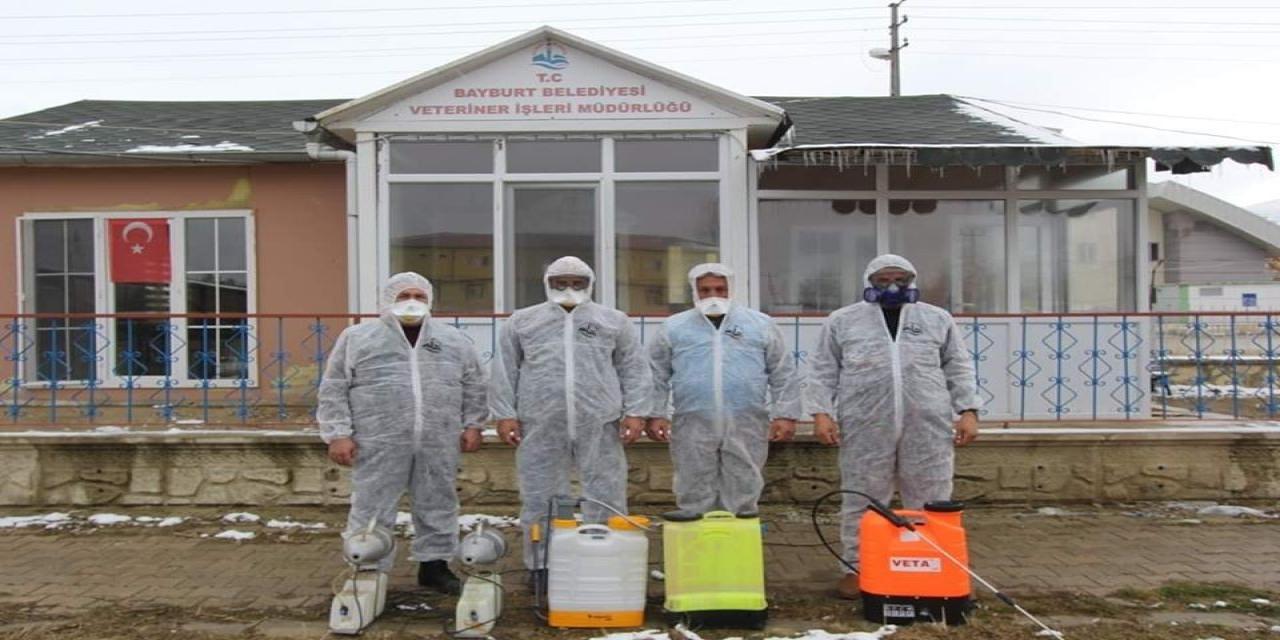 Belediyeden korona virüsü için dikkat çeken çalışmalar
