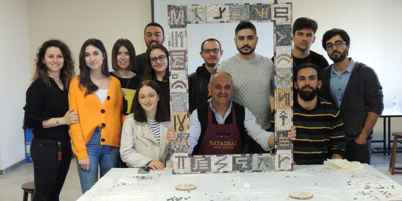 Mozaik sanatçısı Mehmet Yılmaz: Mozaik kişiye sabrı öğretir