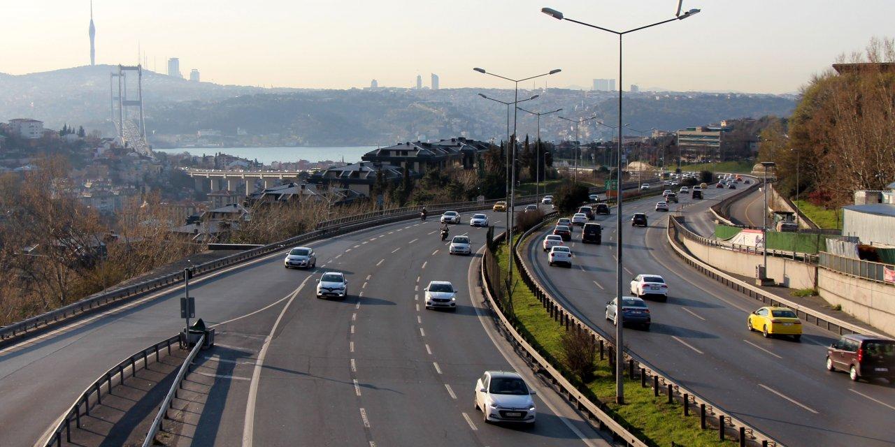 """İstanbul trafiğine """"Koronavirüs"""" etkisi"""