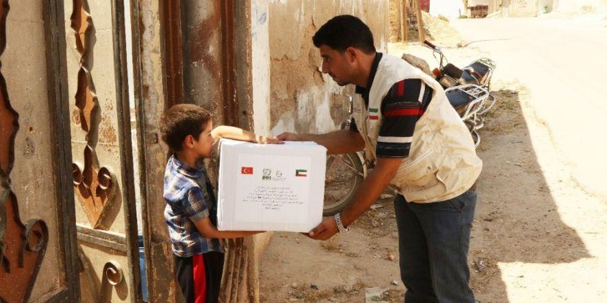 Han Şeyhun'a Ramazan yardımı