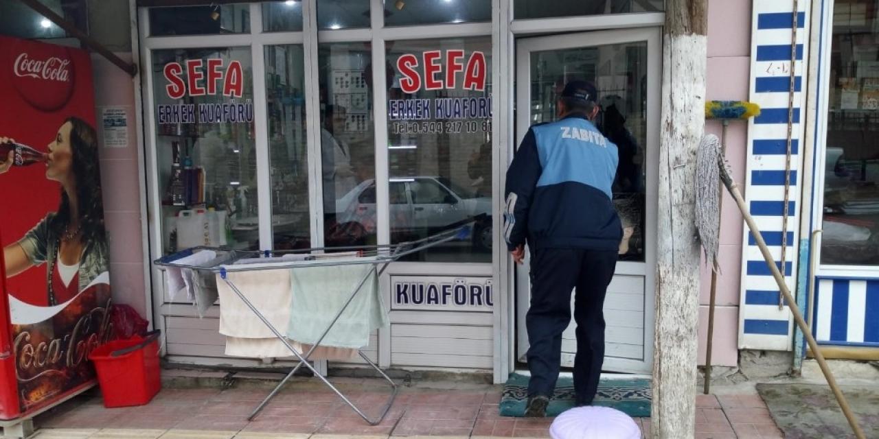 Erciş Belediyesinden korona virüsüne karşı denetim