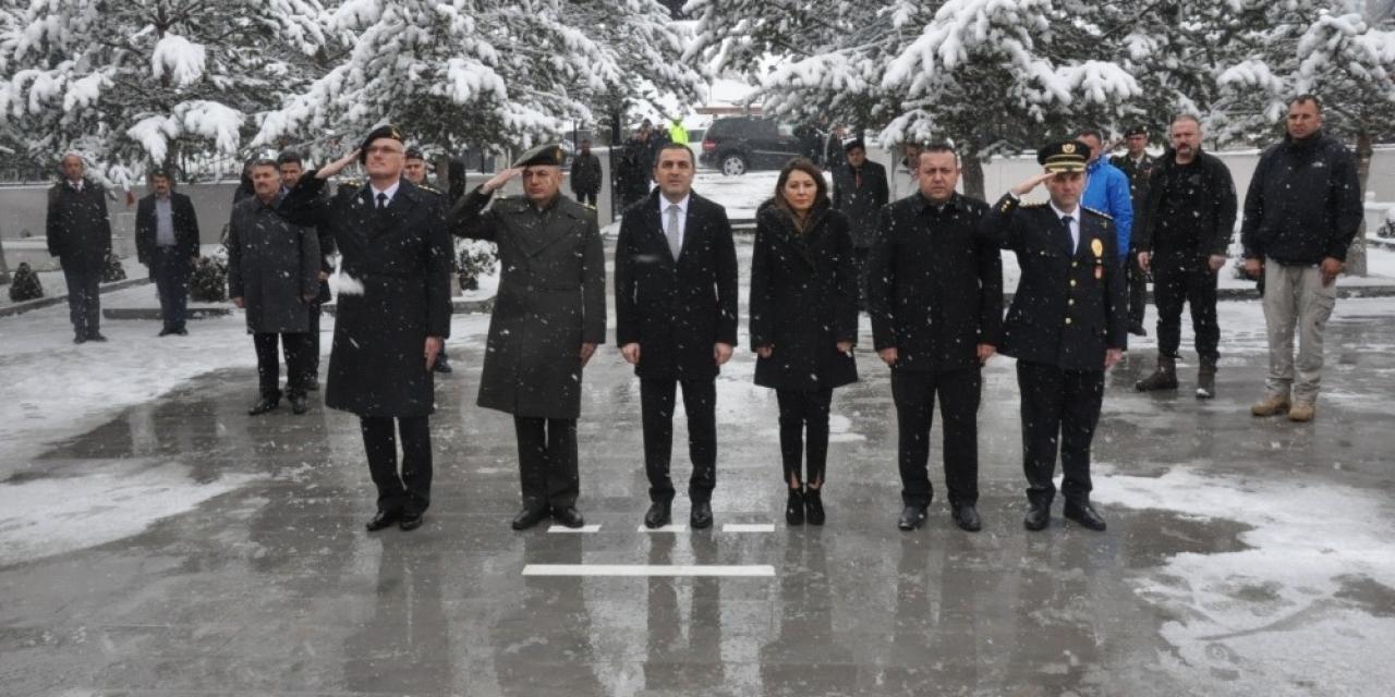 Kars'ta 18 Mart Çanakkale Zaferi töreni