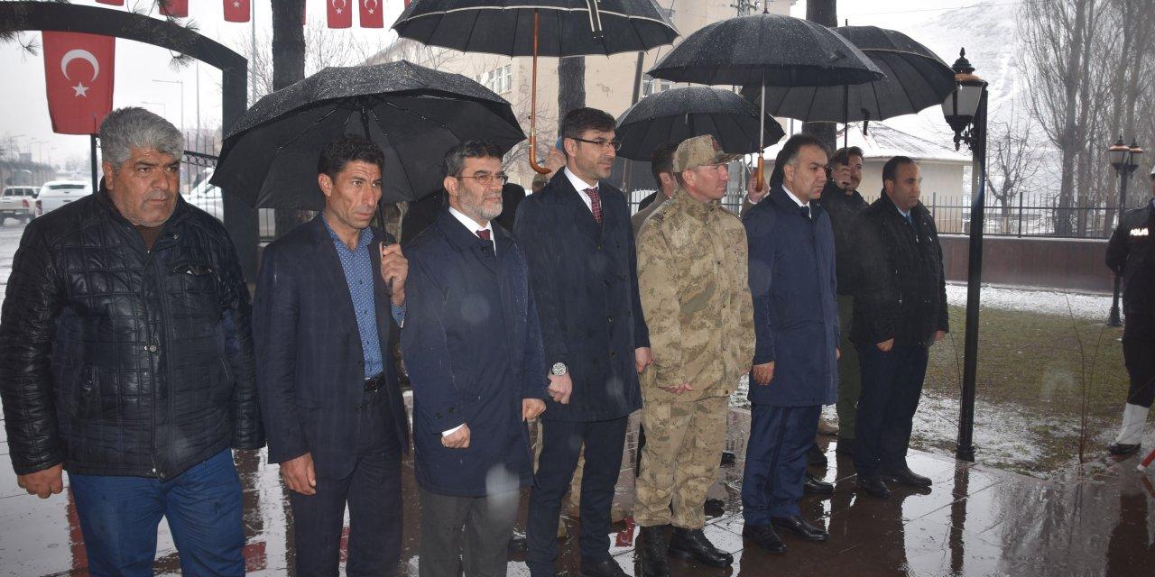 Bitlis'te Çanakkale zaferinin 105'inci yılı kutlandı