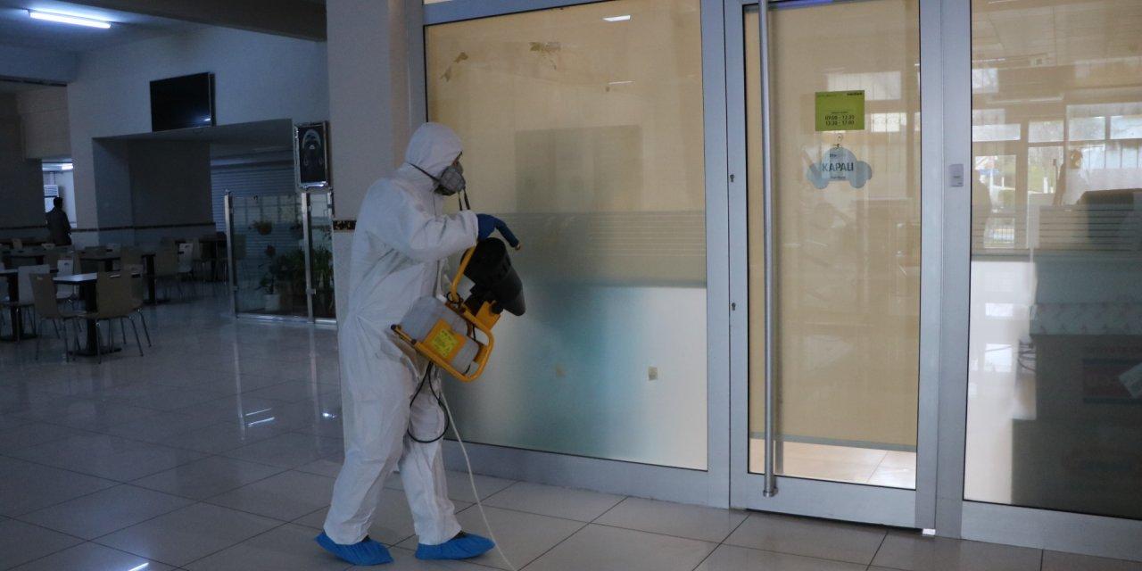 Maltepe Cezaevi'nde koronavirüs önlemi