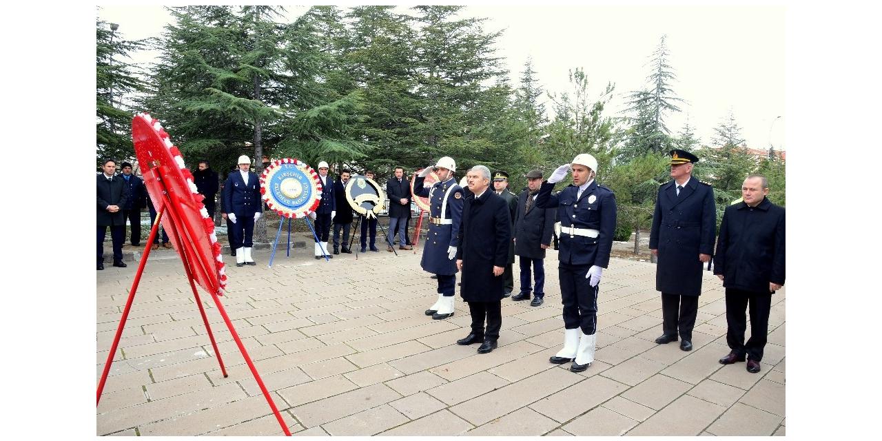 18 Mart Şehitler Günü için Kırşehir'de tören düzenlendi