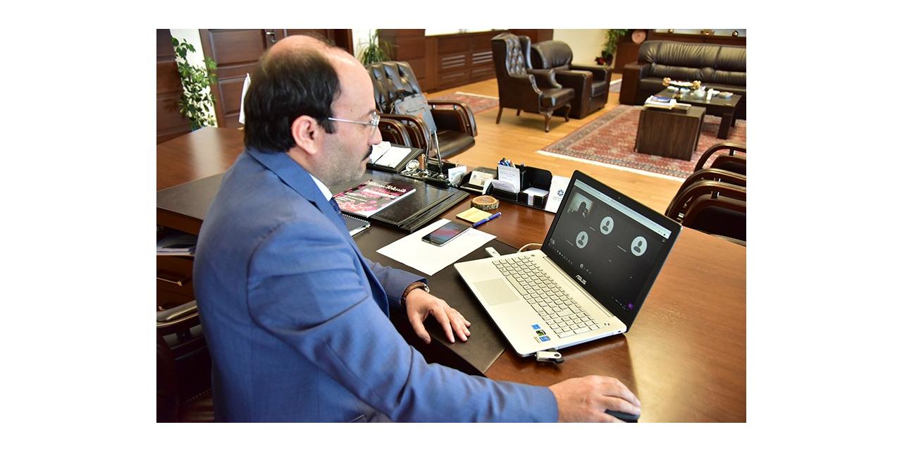ETÜ'de toplantılar online olarak gerçekleştiriliyor