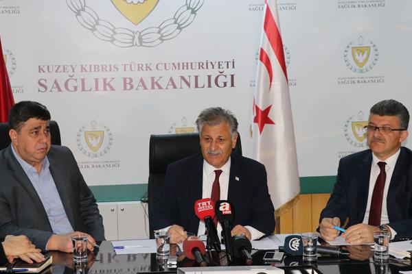 KKTC Sağlık Bakanı Ali Pilli, hastaneye kaldırıldı