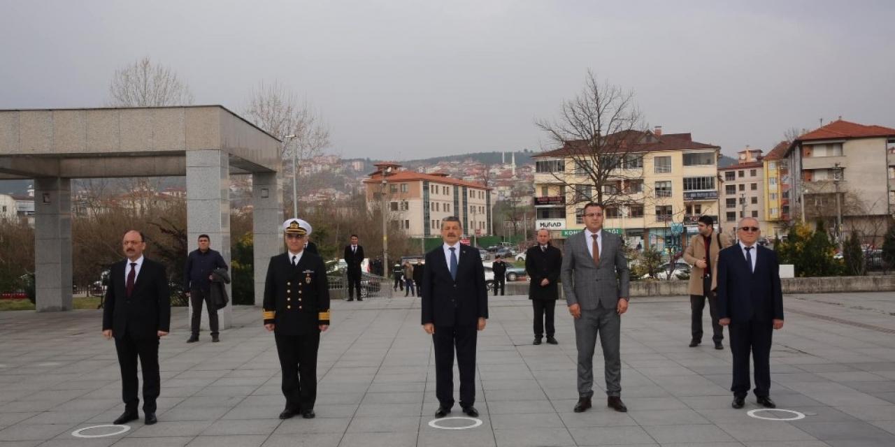 Bartın'da Çanakkale Deniz Zaferi'nin 105. yıl dönümü kutlandı