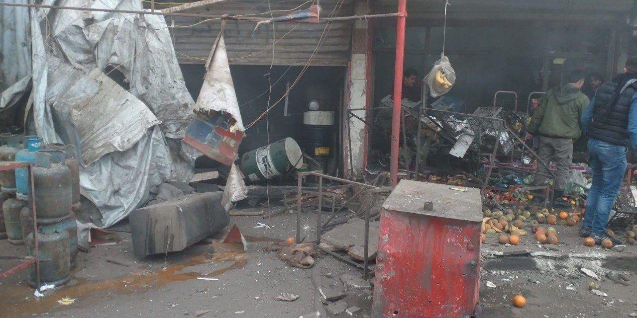 MSB: Terör örgütü Afrin'de sivilleri hedef aldı, 3 ölü 9 yaralı