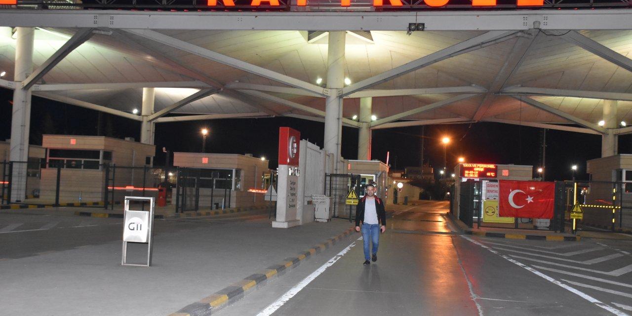 Avrupa'ya açılan sınır kapılarında giriş ve çıkışlar durduruldu (2)